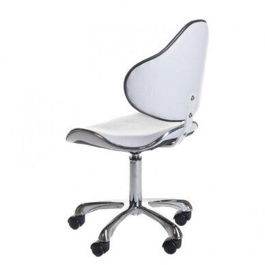 Meistro kėdutė BD-9933, baltos sp. 3