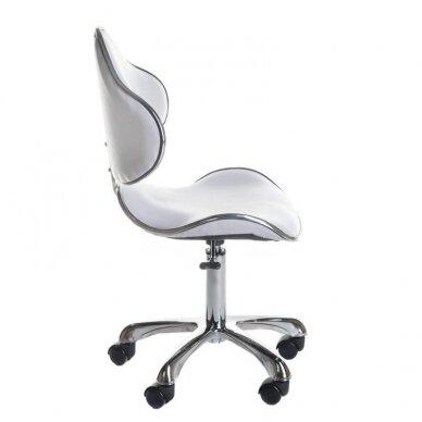 Meistro kėdutė BD-9933, baltos sp. 2