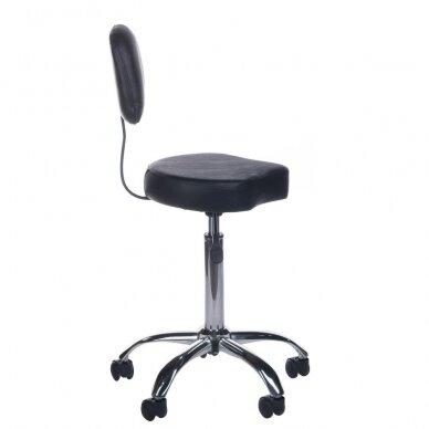 Meistro kėdutė BH-7268, juodos sp. 3