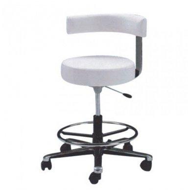 Meistro kėdutė, CH-828, baltos sp.