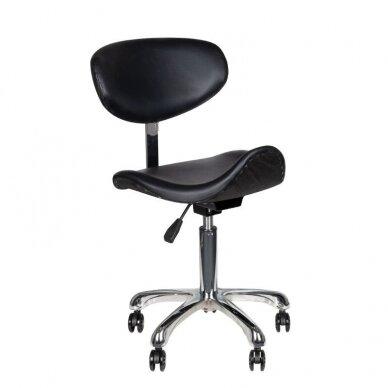 Meistro kėdutė1637, juodos sp.