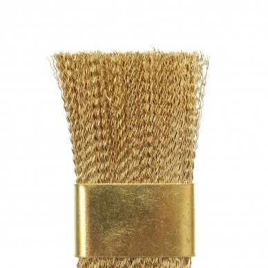 Metalinis šepetėlis frezų ir antgalių valymui 2