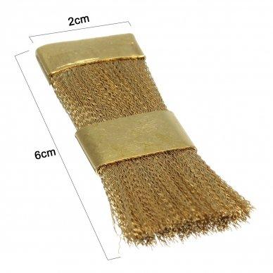Metalinis šepetėlis frezų ir antgalių valymui 3
