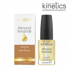 Migdolų aromato nagų odelių aliejus KINETICS Almond Cuticle Essential Oil, 15 ml