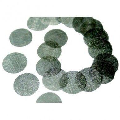 Mikrodermabrazijos filtrai, sietelio tipo. 20 vnt.