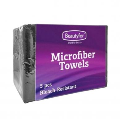 Mikropluošto rankšluosčiai 5 vnt., 70 x 40 cm, juodos sp.