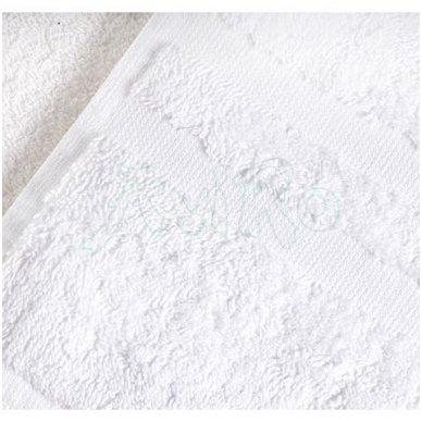 Rankšluostis MILANO 2, 450 gr/m2, baltos sp. 3