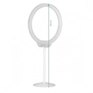 Mini makiažo lema SELFIE RING LAMP, 10W, 54сm 2