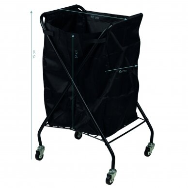 Mobilus salono krepšys, juodos sp. 3
