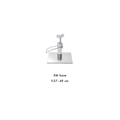 Stilingas kirpyklos krėslas GLAMROCK (pasirenkama bazė) 4