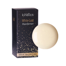 Nagų kietiklis KINETICS White Gold Hardener, 15 ml