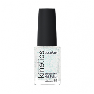 Nagų lakas KINETICS SolarGel Polish Silver Fairy Dust #101, 15 ml