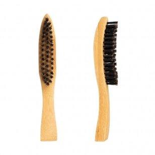 Natūralaus plauko šepetys barzdai KARTACZ H-64