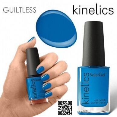 Nagų lakas Kinetics SolarGel #467 Blue Jeans, 15ml