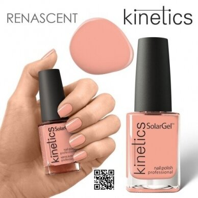 Nagų lakas Kinetics SolarGel BAROQUE ESSENTIAL #471, 15ml