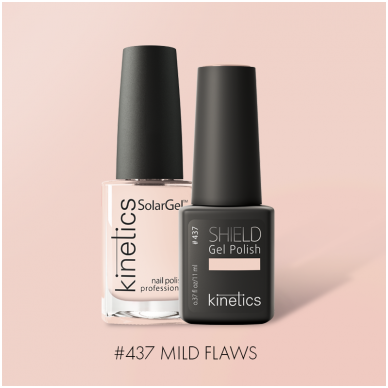 Nagų lakas Kinetics SolarGel Mild Flaws, 15ml, Ruduo 2019 2