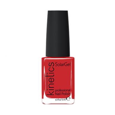 Nagų lakas KINETICS SolarGel Polish Bonnie Red #076, 15 ml