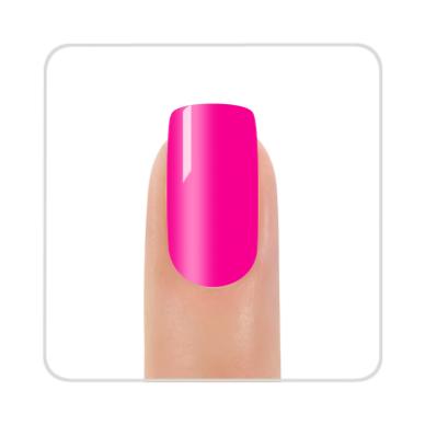 Nagų lakas KINETICS SolarGel Polish electro pink #196, 15 ml 2