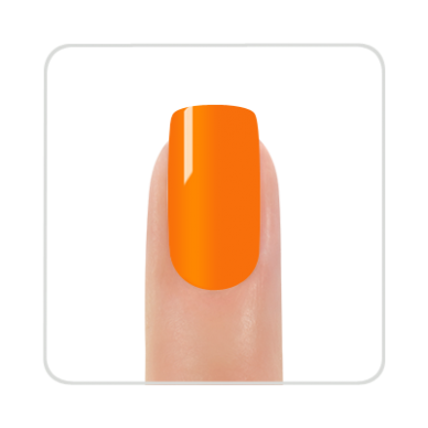 Nagų lakas KINETICS SolarGel Polish orange pop #194, 15 ml 2