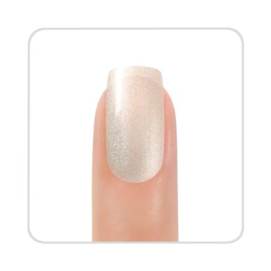 Nagų lakas KINETICS SolarGel Polish Silver Fairy Dust #101, 15 ml 2
