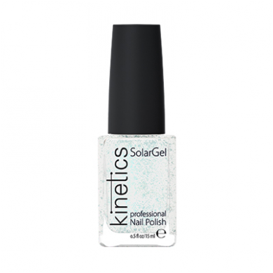Nagų lakas KINETICS SolarGel Polish Silver Fairy Dust #101, 15 ml