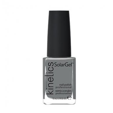 Nagų lakas Kinetics SolarGel Polish  Iceland Grey #345, 15 ml
