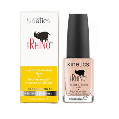 Nagų stipriklis KINETICS Nano Rhino Nail Treatment, 15 ml