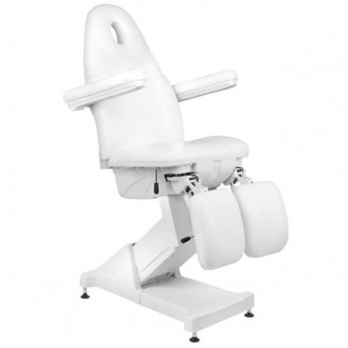 Elektrinis daugiafunkcinis krėslas BASIC 156 PEDI, baltos sp. 7