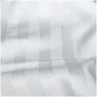 ORIVA SATIN STRIPE užvalkalas antklodei 200x200 cm, 150 g/m2