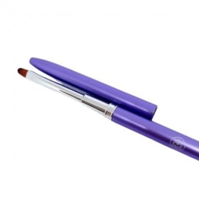 Ovalus teptukas geliui Nr.4 violetinis