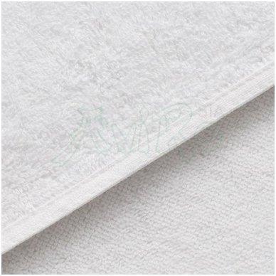 Rankšluostis PARIS 550 g/m2, baltos sp. 3