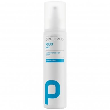 Peclavus PODOmed purškiamas suragėjusios odos minkštiklis, 250 ml