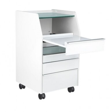 Pedikiūro įrangos vežimėlis 984, pilkos sp. 4
