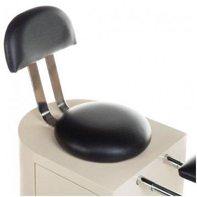 Pedikiūro kėdė su spintelė ir masažo vonele pėdoms SPA BCH-102B 2