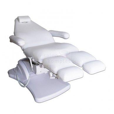 Elektrinis pedikiūro krėslas, 3 varikliai, baltos sp. 3
