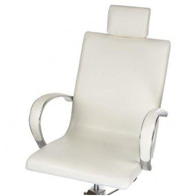 Pedikiūro krėslas su masažine vonele BR-2308, baltos sp. 4