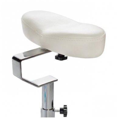 Pedikiūro krėslas su masažine vonele BR-2308, baltos sp. 2