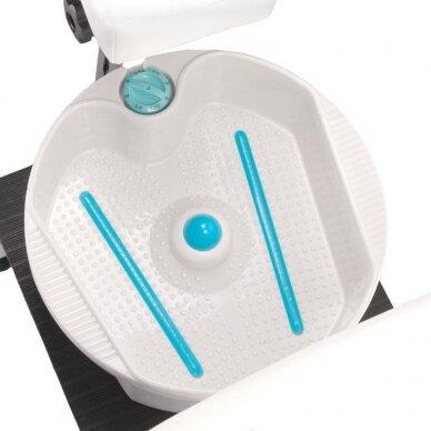 Pedikiūro krėslas su pakoju ir imontuota vonele BR-2301, baltos sp. 4