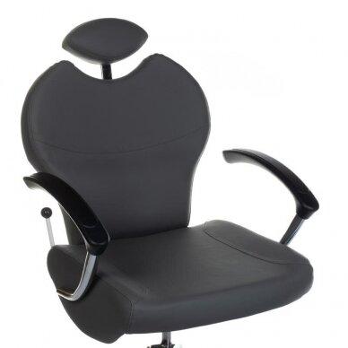 Pedikiūro krėslas su pakoju ir imontuota vonele BR-2301, pilkos sp. 2