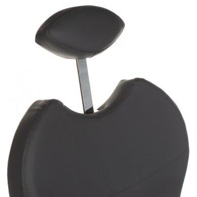 Pedikiūro krėslas su pakoju ir imontuota vonele BR-2301, pilkos sp. 5