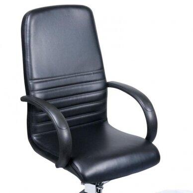 Pedikiūro krėslas su pakoju ir imontuota vonele BW-100, juodos sp. 5
