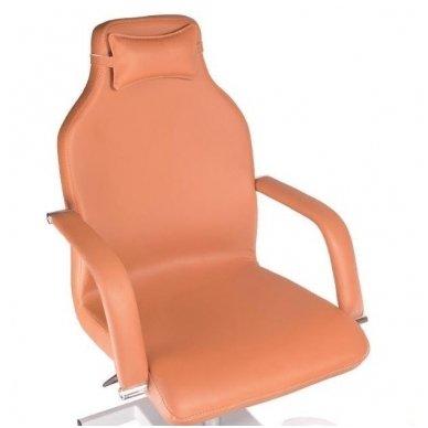 Pedikiūro krėslas su masažine vonele BD-5711, rudos sp. 2