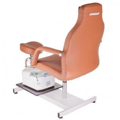 Pedikiūro krėslas su masažine vonele BD-5711, rudos sp. 3