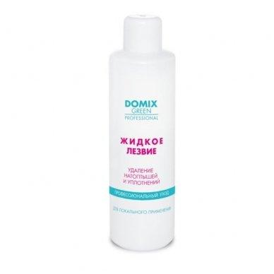 Pedikiūro priemonė nuospaudų ir sukietėjusios odos šalinimui, DOMIX 1000 ml