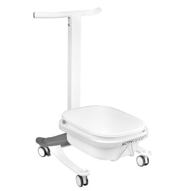 Pedikiūro vonelės vežimėlis su dubeniu COMFORT