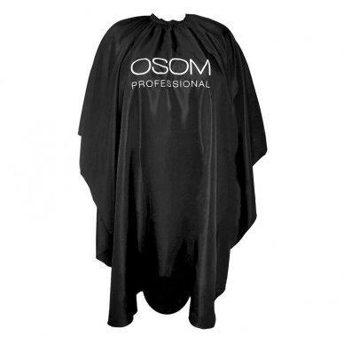Peniuaras kirpimui Osom Professional, juoda sp., 145 x 60cm
