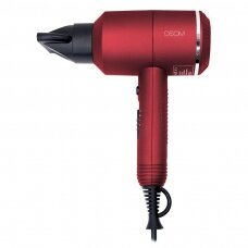 Plaukų džiovintuvas, 2000W OSOM 2525, RED , 2000W