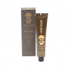 Plaukų formavimo gelis Barba Italiana Black Hair Gel D'Avola, tamsinantis plaukus, 120ml
