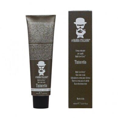 Plaukų dažai vyrams Barba Italiana Tintoretto Multi Level Grey BI017, Nr. 1, 60ml