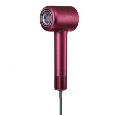 Plaukų džiovintuvas 1600W, raudonas, OSOM HL906HD 10